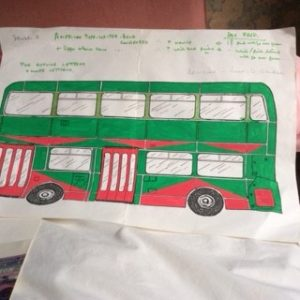Bus - green bus